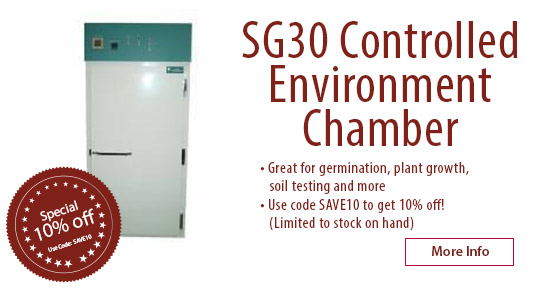 SG30 Controlled Environment Chamber Special
